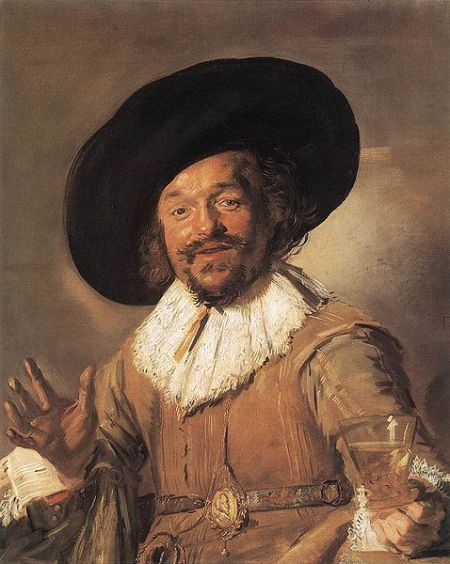 The Merry Drinker by Frans Hals.