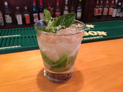 Highwire's Superb Mint Julep, via Highwire's Facebook Page