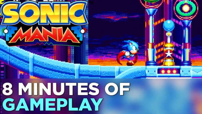 Sonic Mania: A Thing That Makes Me Flood My Basement.