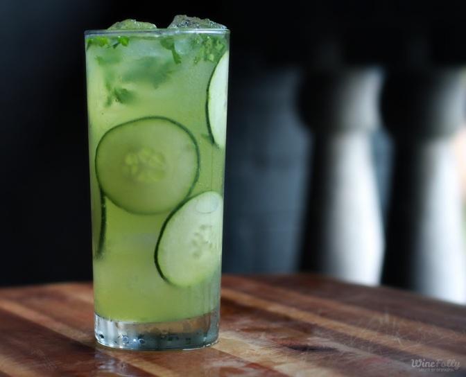 The Cucumber Caipiroska: Perfect Summer Party Cocktail