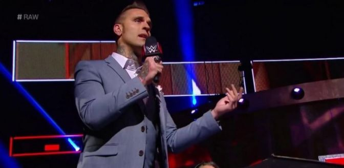 I Watch Wrestling for the Articles: Corey Graves