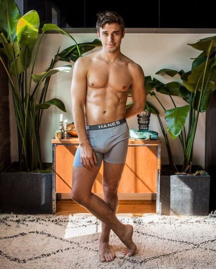 Still Perplexed at Antoni Porowski's Underwear Ad… Contrapposto