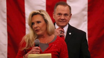 Roy Moore's Wife Sad Pulitzer Prize Went to Journalism About Her BigotHusband