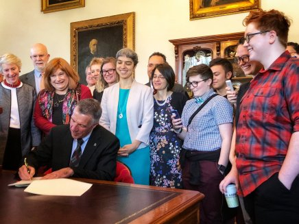 Republican Governor Phil Scott of Vermont Signs Trans Bathroom Bill