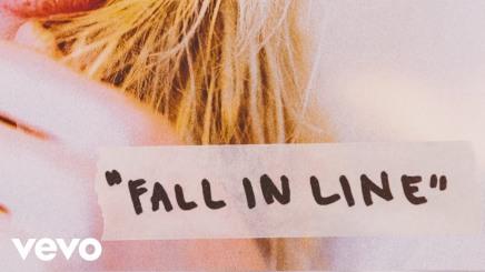 """Listen: Christina Aguilera & Demi Lovato's """"Fall inLine"""""""